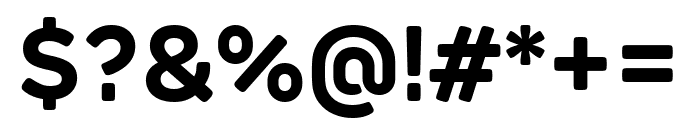 Rubrik Edge New Bold Font OTHER CHARS