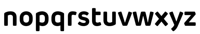 Rubrik Edge New Bold Font LOWERCASE