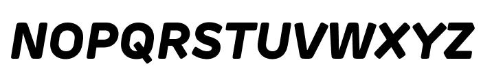 Rubrik Edge New ExtraBold Italic Font UPPERCASE
