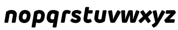 Rubrik Edge New ExtraBold Italic Font LOWERCASE