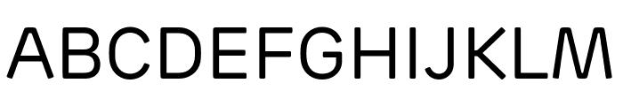 Rubrik Edge New Regular Font UPPERCASE
