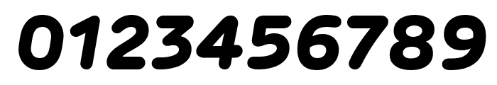 Rubrik New ExtraBold Italic Font OTHER CHARS