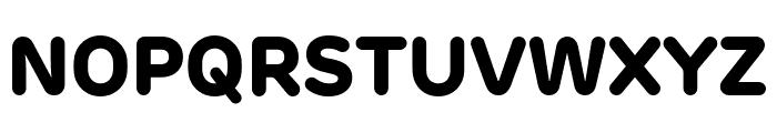 Rubrik New ExtraBold Font UPPERCASE