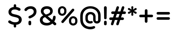 Rubrik New Medium Font OTHER CHARS