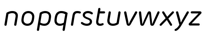Rubrik New Regular Italic Font LOWERCASE