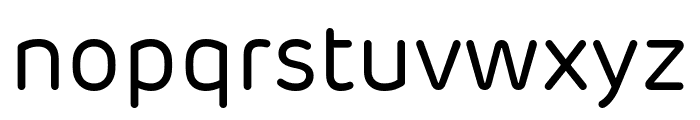 Rubrik New Regular Font LOWERCASE