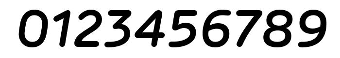 Rubrik New SemiBold Italic Font OTHER CHARS