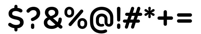 Rubrik New SemiBold Font OTHER CHARS