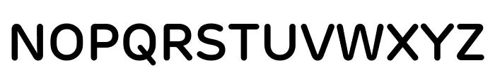 Rubrik New SemiBold Font UPPERCASE