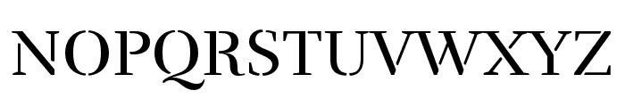 Rufina Stencil Ornaments Font UPPERCASE