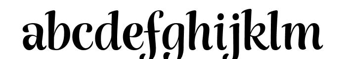 Rumba Small Font LOWERCASE