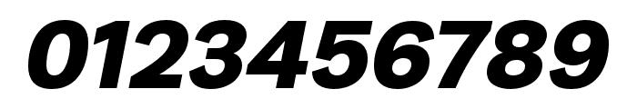 Runda Black Italic Font OTHER CHARS