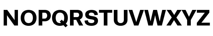 Runda Bold Font UPPERCASE