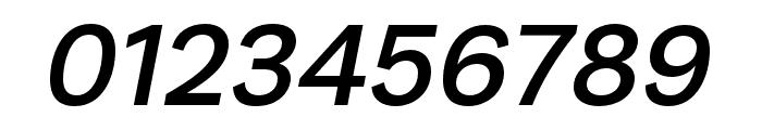 Runda Medium Italic Font OTHER CHARS