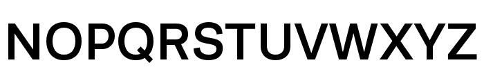 Runda Medium Font UPPERCASE