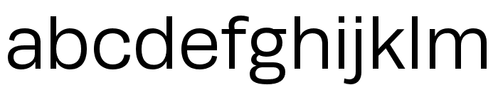 Runda Normal Font LOWERCASE