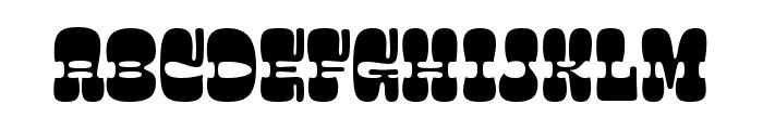 Salsero Regular Font UPPERCASE