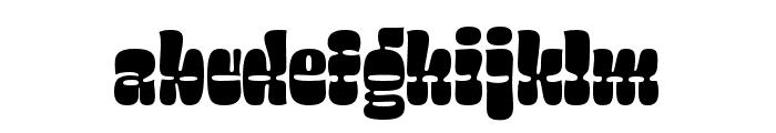 Salsero Regular Font LOWERCASE