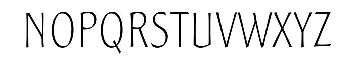 SamSans Thin Font UPPERCASE