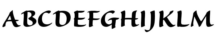 Sanvito Pro Bold Display Font UPPERCASE