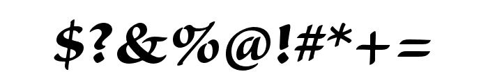Sanvito Pro Bold Subhead Font OTHER CHARS