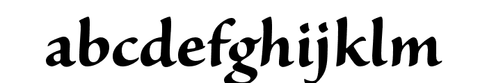 Sanvito Pro Bold Subhead Font LOWERCASE