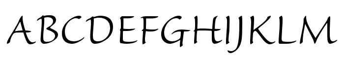 Sanvito Pro Light Caption Font UPPERCASE