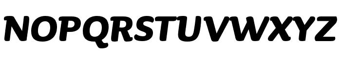 Sauna Mono Pro Bold Italic Font UPPERCASE