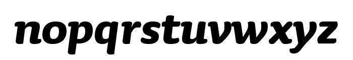 Sauna Mono Pro Bold Italic Font LOWERCASE