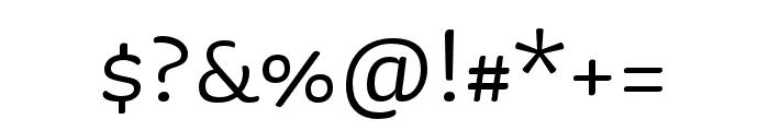 Sauna Mono Pro Regular Font OTHER CHARS
