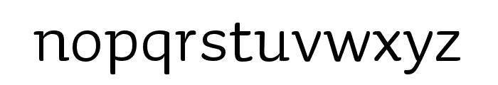 Sauna Mono Pro Regular Font LOWERCASE