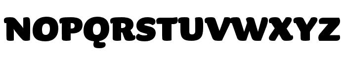 Sauna Pro Bold Font UPPERCASE