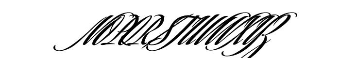 SavannaScript Black Font UPPERCASE