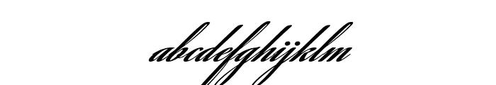 SavannaScript Black Font LOWERCASE