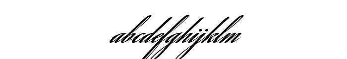 SavannaScript Bold Font LOWERCASE