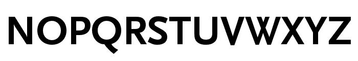 Scala Sans Pro Condensed Bold Font UPPERCASE