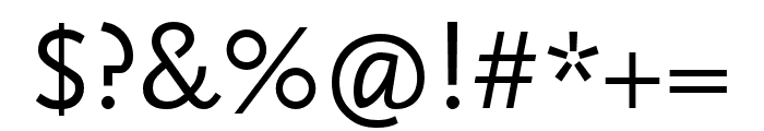Scala Sans Pro Condensed Font OTHER CHARS