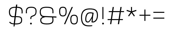 Scarlet Bold Font OTHER CHARS