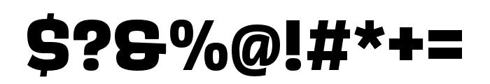 Scarlet ExtraBold Font OTHER CHARS