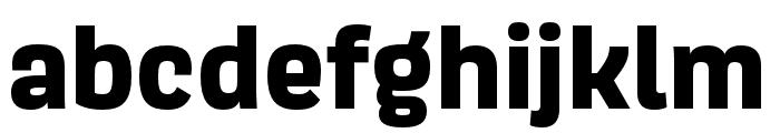 Scarlet ExtraBold Font LOWERCASE