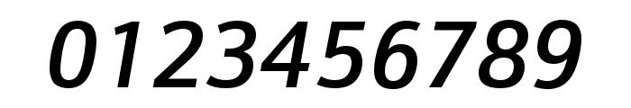 Schnebel Sans Pro Cond Medium Italic Font OTHER CHARS