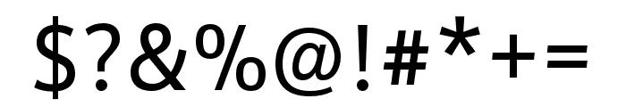 Schnebel Sans Pro Regular Font OTHER CHARS
