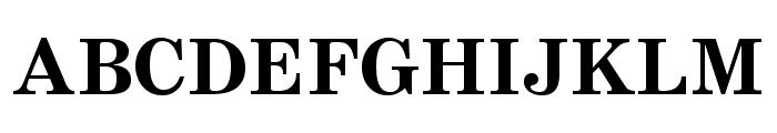 SchoolBook Cond Bold Regular Font UPPERCASE