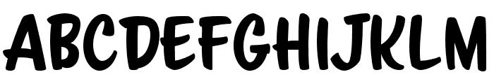 ScriptoramaMarkdownJF Regular Font UPPERCASE