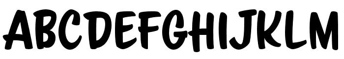 ScriptoramaMarkdownJF Regular Font LOWERCASE
