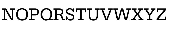 Serifa Regular Font UPPERCASE