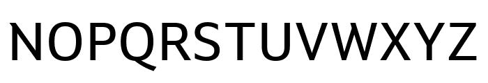 Setimo Regular Font UPPERCASE