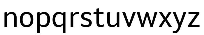 Setimo Regular Font LOWERCASE