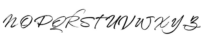 Shabby Chic Regular Font UPPERCASE