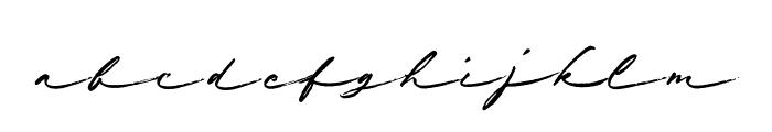 Shabby Chic Regular Font LOWERCASE